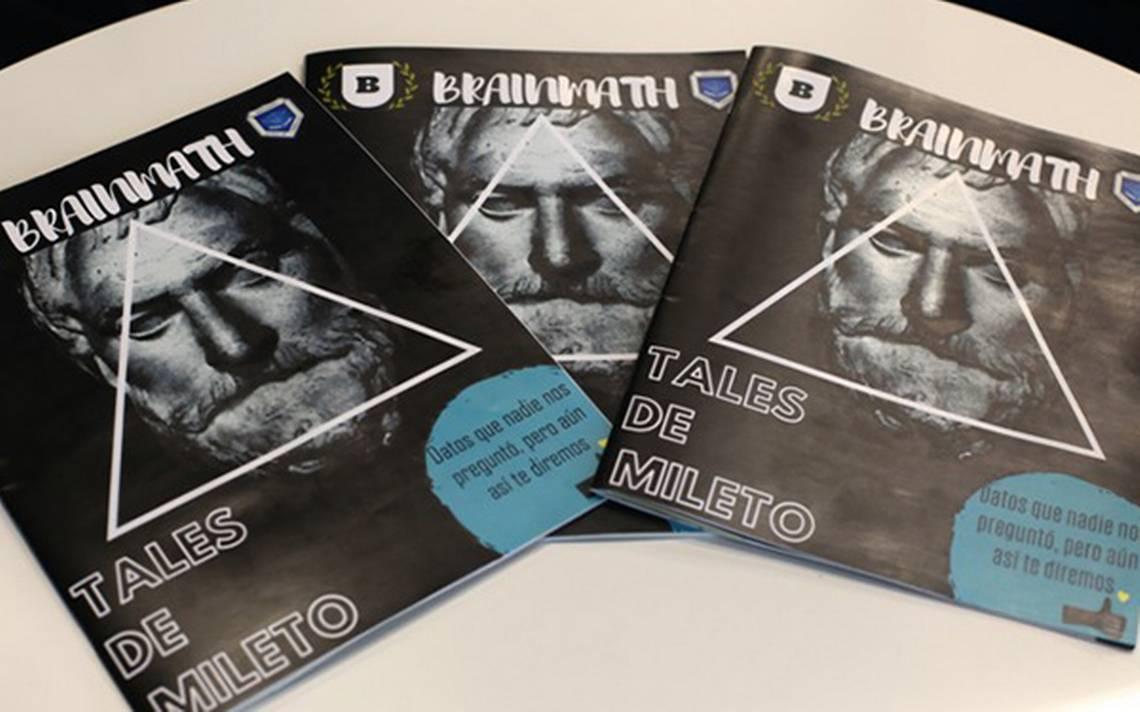 """Andrea Garcia Xtremo crean jóvenes la revista de matemáticas """"brainmath"""" - el sol"""