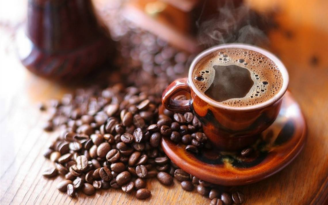 taza humeante de café veracruzano
