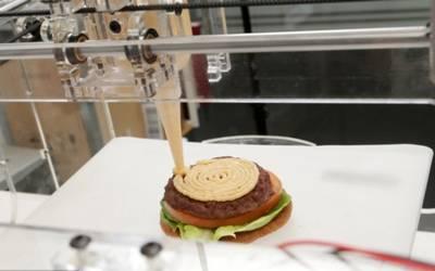 Image result for comida impresa en 3d