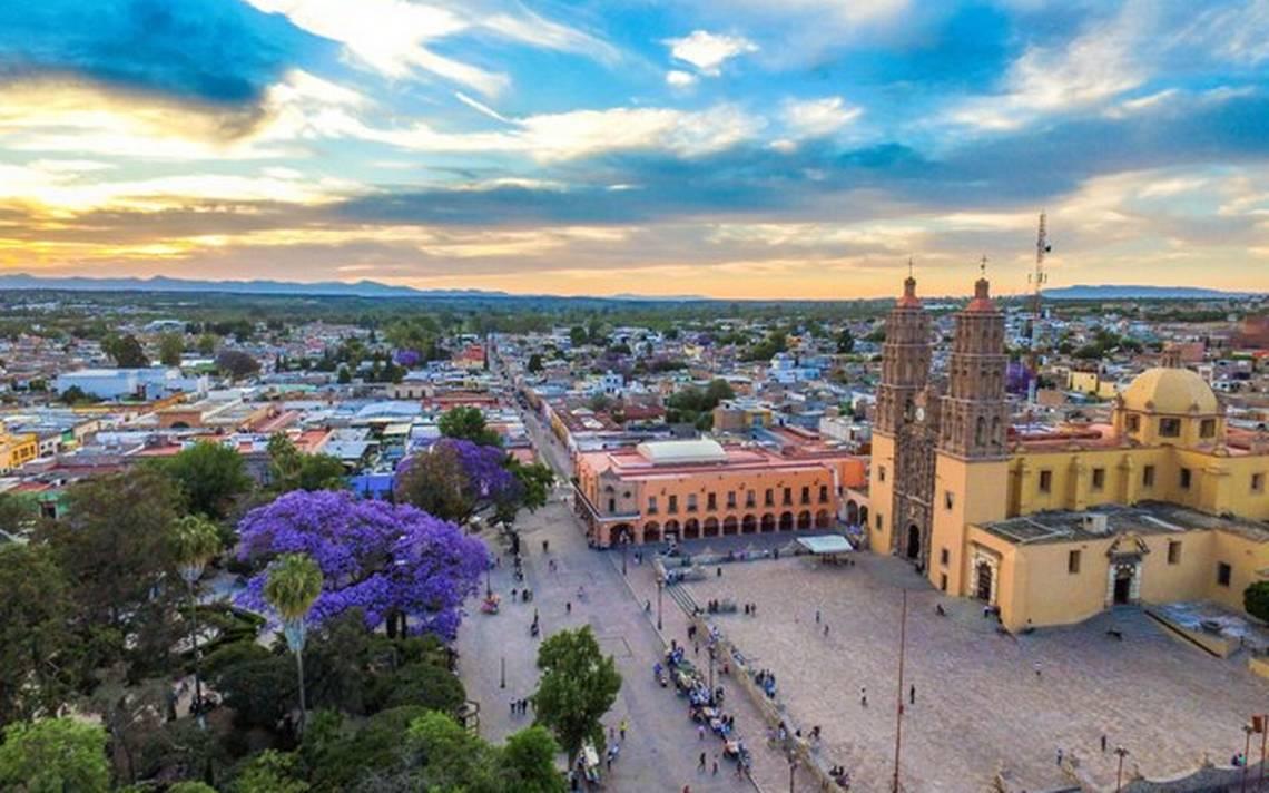 panorámica del centro de Dolores Hidalgo