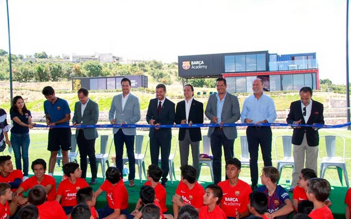 ¡Visca Barca en Puebla! Inauguran Barça Academy en Haras - El Sol de Puebla 6075fcd6f48