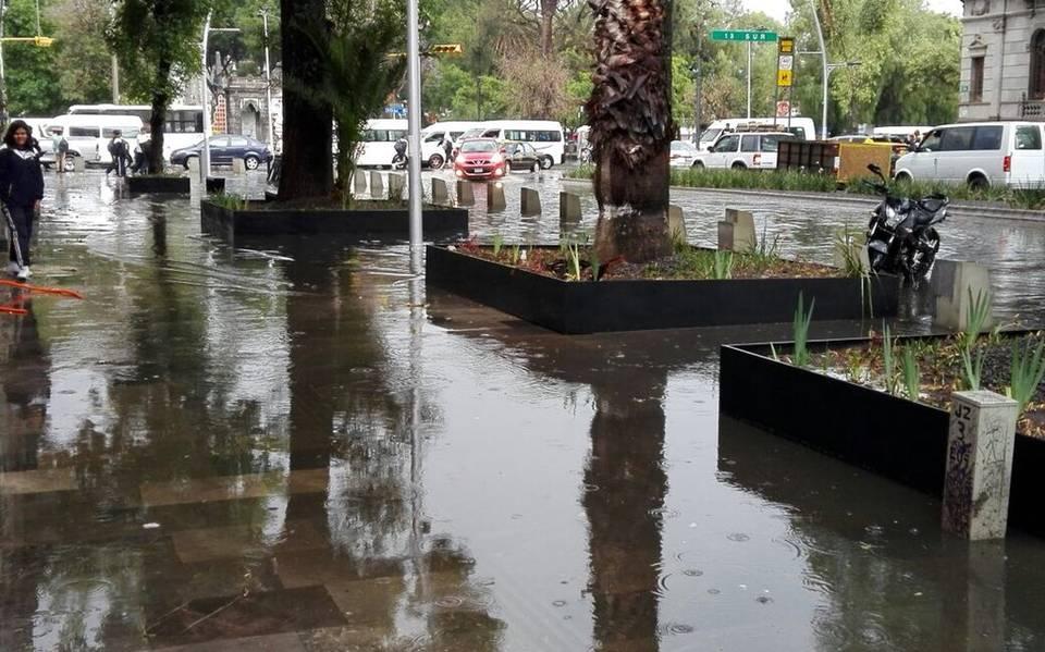 Resultado de imagen para av juarez inundada