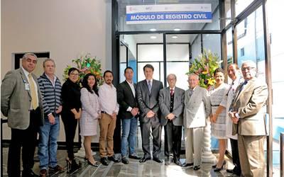 Inauguran Módulo Del Registro Civil En La Beneficencia