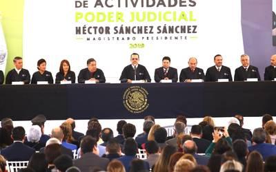 Resalta Poder Judicial Fortalecimiento De Su Estructura En