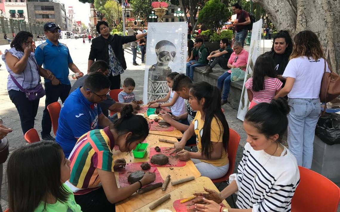 Talleres gratuitos! Museo Amparo lleva la cultura a las calles de Puebla -  El Sol de Puebla