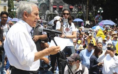 ced93393c Abandonan dirigentes nacionales a Cárdenas en inicio de campaña - El Sol de  Puebla