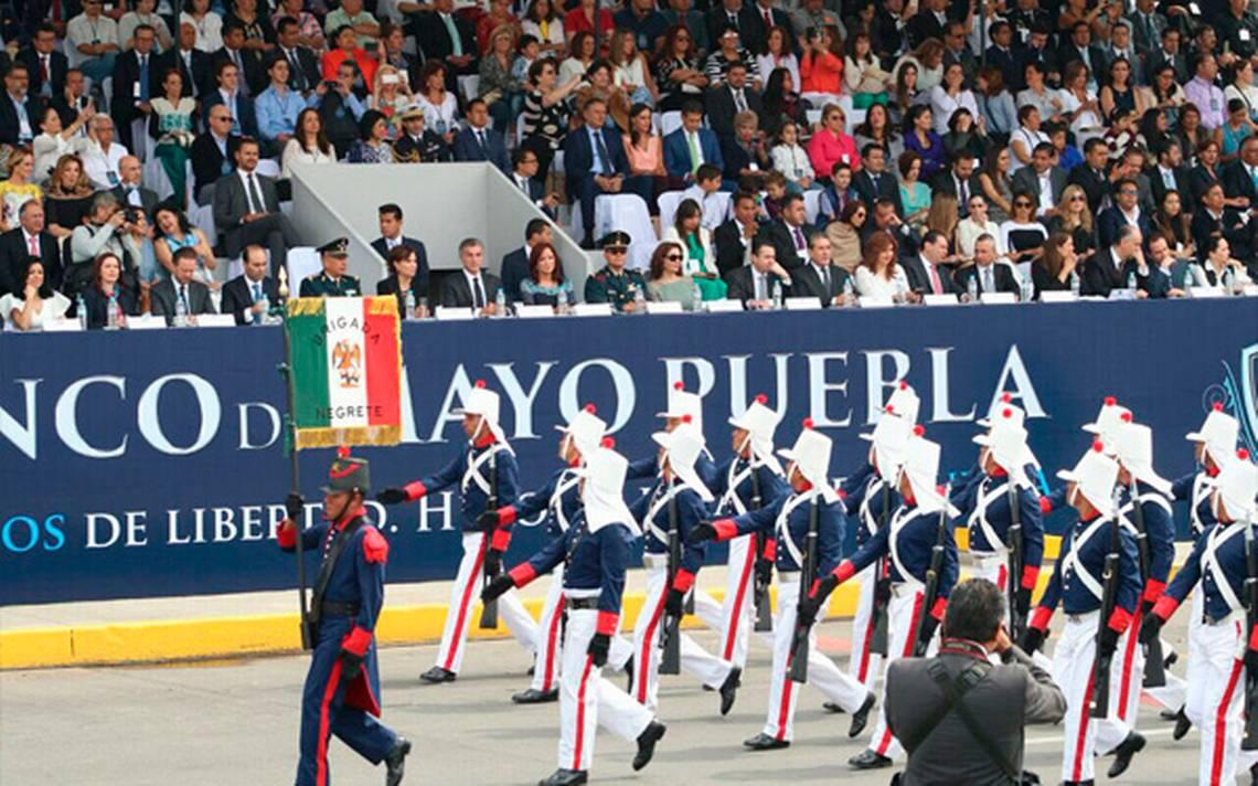 ? #EnVivo Desfile conmemorativo de la Batalla de Puebla ...