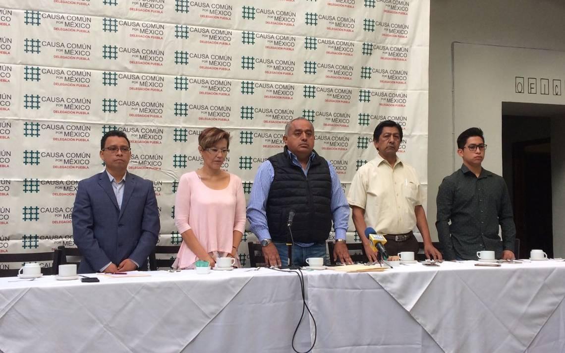 Ofrece Causa Común por México 120 mil votos a AMLO - El Sol de Puebla
